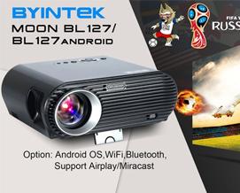 პროექტორი BYINTEK BL127 LED WXGA 1280 x 800 720P 20,000Hrs - 1 წლიანი გარანტიით