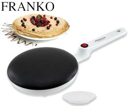ბლინის ტაფა FRANKO FCM-1117 White - 1 წლიანი გარანტიით