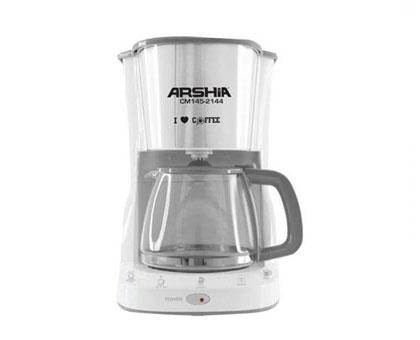 ARSHIA CM145 2143 დაფქვული ყავის აპარატი 1000W  1 წლიანი გარანტიით!