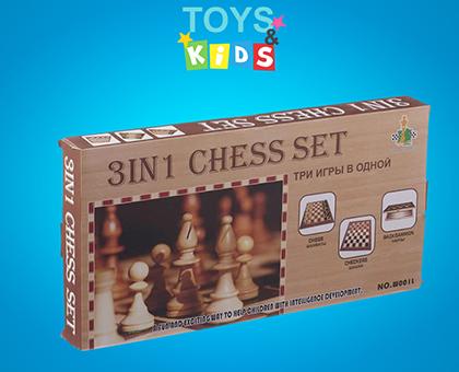 50%-იანი ფასდაკლება ჭადრაკის და დამკის სათამაშო კომპლექტზე მაღაზიისგან toys&kids!