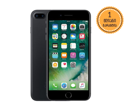 iPhone 7 Plus 32GB Black 1369 ლარად!