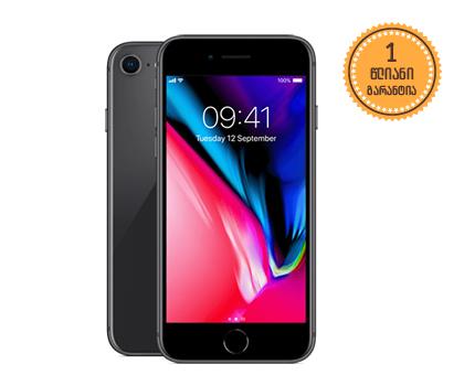 iPhone 8 64GB Black 1499 ლარად!
