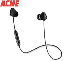 ყურსასმენი მიკროფონით Acme BH104 Bluetooth Black Built-in microphone - 1 წლიანი გარანტიით