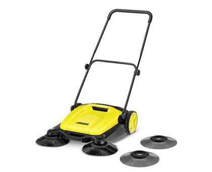 KARCHER 1.766-300.0 Manual Floor Sweeper S 650 მტვერსასრუტი კონტეინერით
