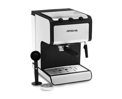 ARSHIA EM110 2440 ესპრესოსა და კაპუჩინოს ყავის აპარატი 1 წლიანი გარანტიით!