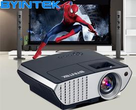 პროექტორი BYINTEK BL126 HDMI USB LCD LED projector Resolution 800x600 - 1 წლიანი გარანტიით