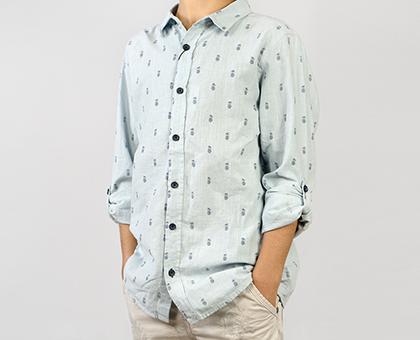 23 ლარად! პერანგი ბიჭებისთვის მაღაზია KOTON-ისგან!