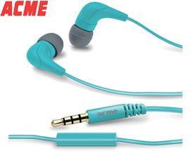 ყურსასმენი მიკროფონით Acme HE15B Groovy in-ear headphones with mic - 1 წლიანი გარანტიით