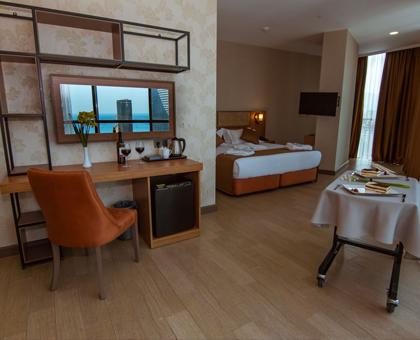 60 ლარად! მიიღე შენთვის სასურველი ნომერი ბათუმის სასტუმროში ნიუ ვეივ ბათუმი/New Wave Hotel Batumi !