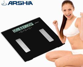 სააბაზანოს სასწორი ARSHIA BS110 2222 - 1 წლიანი გარანტიით
