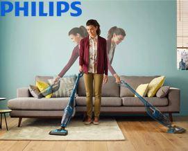 მტვერსასრუტი Philips PowerPro Aqua Vacuum cleaner and Mopping System FC6404/01 - 1 წლიანი გარანტიით