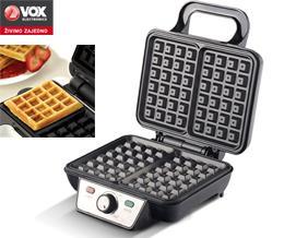 ვაფლის აპარატი VOX WF2081M waffle maker - 1 წლიანი გარანტიით