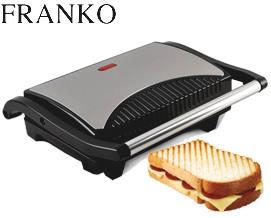 სენდვიჩის აპარატი FRANKO FSM-1094 - 2 წლიანი გარანტიით მხოლოდ 55 ლარად!