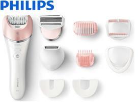 ეპილატორი Philips Satinelle Advanced Wet & Dry epilator (BRE640/00) - 1 წლიანი გარანტიით
