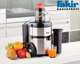 წვენსაწური Fakir Maxie 800W Stainless Steel Juicer - 1 წლიანი გარანტიით