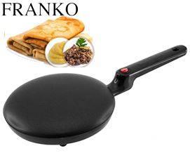 ბლინის ტაფა FRANKO FCM-1117 Black - 1 წლიანი გარანტიით