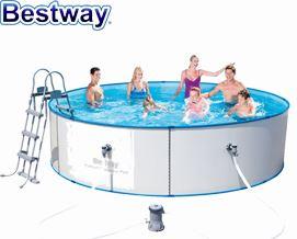 კარკასული აუზი Bestway 56377-GS18 Hydrium Splasher Pool Set 360x90cm