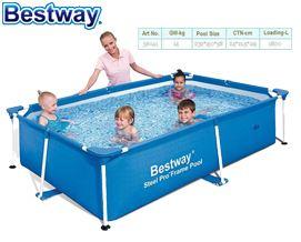 კარკასული აუზი BESTWAY 56401 221*150*43cm 1200L Splash Jr. Frame Pool