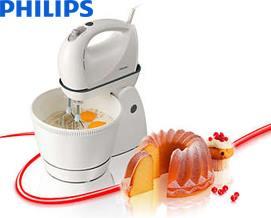 მიქსერი Philips Stand mixers HR1565/40 - 1 წლიანი გარანტიით