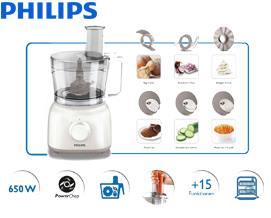 სამზარეულოს კომბაინი Philips Daily Collection Food processor HR7627/00 - 1 წლიანი გარანტიით