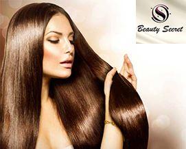 თქვენი თმის იდეალურობისთვის! კერატინით გასწორება და აღდგენა 42 ლარიდან «Beauty Secret-ში»