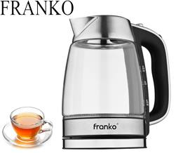 ელექტრო ჩაიდანი FRANKO FKT-1018 - 1 წლიანი გარანტიით