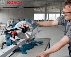 ცირკულარული სტაციონარული ხერხი Bosch GCM 10 MX (0601B29021) - 2 წლიანი გარანტიით