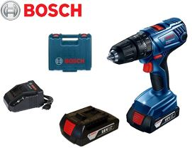 უსადენო სახრახნისი Bosch GSB 180-LI Professional (06019F8300) - 2 წლიანი გარანტიით
