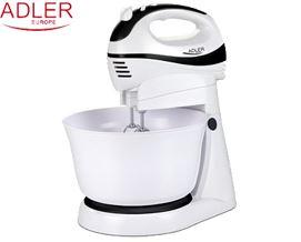 მიქსერი ADLER AD 4206 Hand Mixer White - 2 წლიანი გარანტიით
