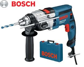 პერფორატორი BOSCH GSB 19-2RE (060117B600) - 2 წლიანი გარანტიით