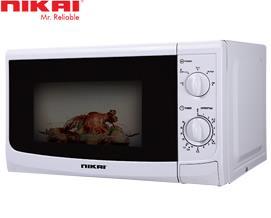 მიკროტალღური ღუმელი Nikai NMO515N9A Microwave Oven 20 Liters - 1 წლიანი გარანტიით