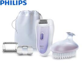 ეპილატორი Philips SatinSoft Epilator HP6520/01 SkinCare system - 1 წლიანი გარანტიით