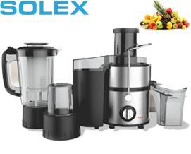 სამზარეულოს კომბაინი SOLLEX FRANCE SL 511 Silver 1000W - 1 წლიანი გარანტიით