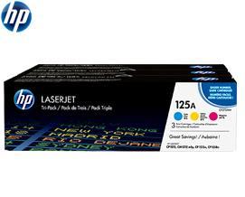 კარტრიჯი HP 125A 3-pack Cyan/Magenta/Yellow Original (CF373AM)
