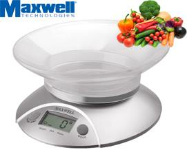სამზარეულოს სასწორი MAXWELL MW 1451 Kitchen Scales -1 წლიანი გარანტიით