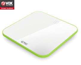 სასწორი VOX PW 520A white-green - 1 წლიანი გარანტიით