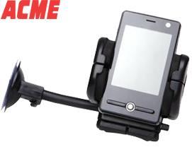 მობილურის სამაგრი Acme MH02 GPS/PDA/cellphone car holder Black - 1 წლიანი გარანტიით
