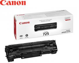 კარტრიჯი Canon Original  Black Toner Cartridge CRG 725 3484B002