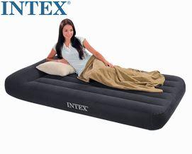 გასაბერი ლეიბი Intex 66779 Luftbett Pillow Rest Classic Blue