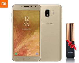 მობილური ტელეფონს+ საჩუქარი Samsung Galaxy J4 Grand 2GB RAM 16GB LTE J400FD Gold -1 წლიანი გარანტიით