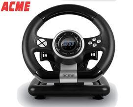 სათამაშო საჭე ACME STi racing wheel Acme - 1 წლიანი გარანტიით