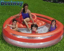 გასაბერი აუზი Bestway 54158 Family Funday Lounge Pool