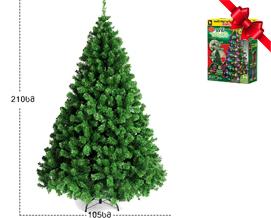 """ნაძვის ხე ,,ბალუ"""" 210 სმ - 319 ლარად"""