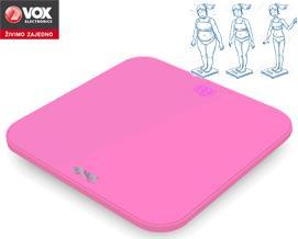 სასწორი VOX PW 520A pink - 1 წლიანი გარანტიით