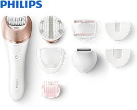 ეპილატორი Philips BRE644/00 Satinelle Prestige Wet & dry epilator - 1 წლიანი გარანტიით