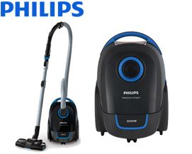 მტვერსასრუტი Philips Performer Compact Vacuum cleaner with bag FC8383/01 - 1 წლიანი გარანტიით