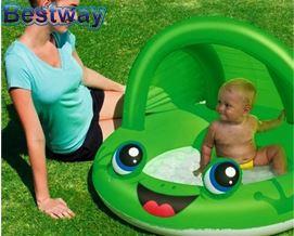 საბავშვო აუზი Bestway 52189 Inflatable Frog Play Pool