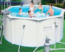 """კარკასული აუზი Bestway Hydrium Pool Package 10ft x 48"""" - 56566"""