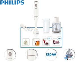 ხელის ბლენდერი + ჩოფერი Philips HR1603/00 Daily Collection Hand blender - 1 წლიანი გარანტიით