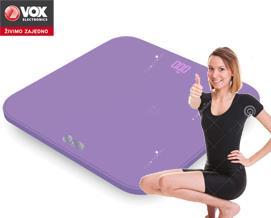 სასწორი VOX PW 520A violet - 1 წლიანი გარანტიით